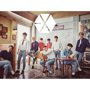 [중고] 엑소 (Exo) / Japan 1st Single Love Me Right (CD+DVD Digipak 포카포함 A급/일본반)