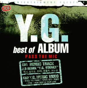 [중고CD] 와이지 패밀리 (Y.G. Family) / Y.G. Best Of Album, Pass The Mic (2CD)