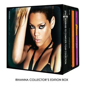 [중고] Rihanna / Collector's Set (3CD Limited Edition/수입)