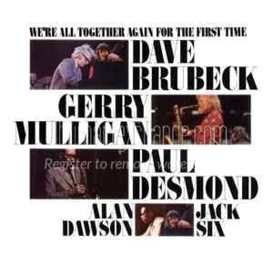 [중고] Dave Brubeck / We're All Together Again For The First Time (CD)