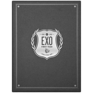 [개봉/DVD] 엑소 (Exo) / Exo's First Box (EXO First Year 4DVD BOX/A급+이어폰줄 와인더)