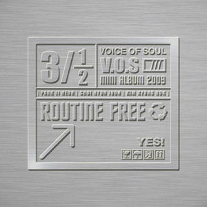 [중고] V.O.S(Voice Of Soul-브이오에스) / 3.5집 Routine Free (Mini Album Digipak CD)