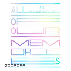 [DVD] 유앤비 (UNB) / 2018 Japan Live DVD All Of Our Memories (3DVD/일본반)