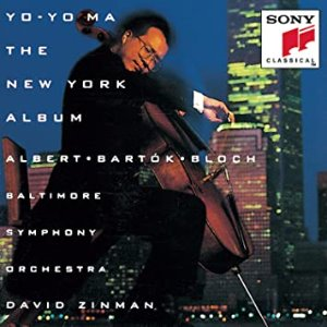 [중고CD] Yo-Yo Ma, David Zinman / The New York Album - Albert, Bartok, Bloch (cck7480)