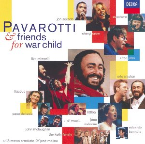 [중고CD] Luciano Pavarotti / Pavarotti & Friends 4 : Together For War Child (dd4380)
