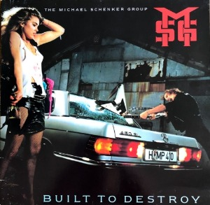 [중고CD] Michael Schenker Group / Built To Destroy (일본반)