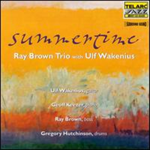 [중고/DVD-Audio] Ray Brown Trio, Ulf Wakenius/ Summertime (20Bit Remastered/DTS/수입)